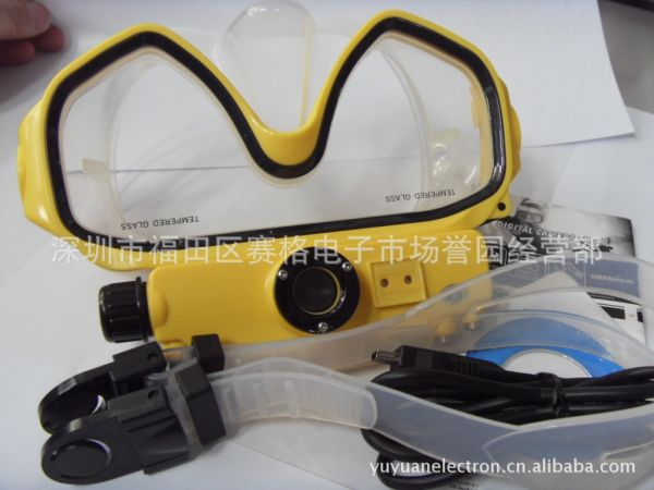 RD34 Digital Camera Mask, Diving mask camera潜水镜摄像机